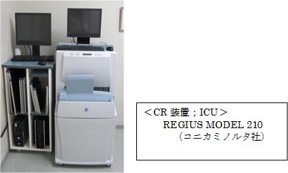CR装置ICU